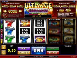 Výherní kasino hra Ultimate Super Reels