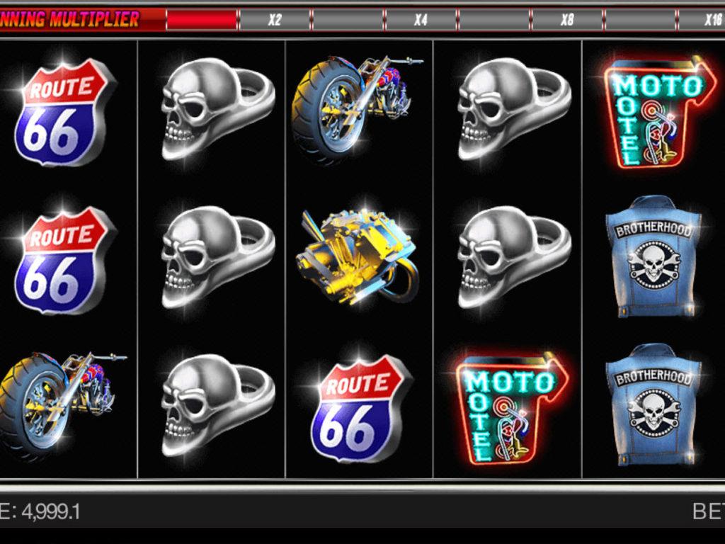 Casino automat Bikers Gang