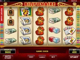 Obrázek z výherního automatu Billyonaire