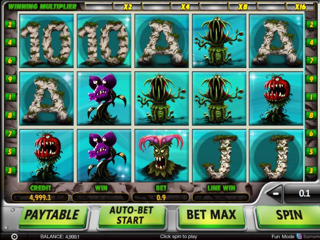 Casino automat Eat Them All