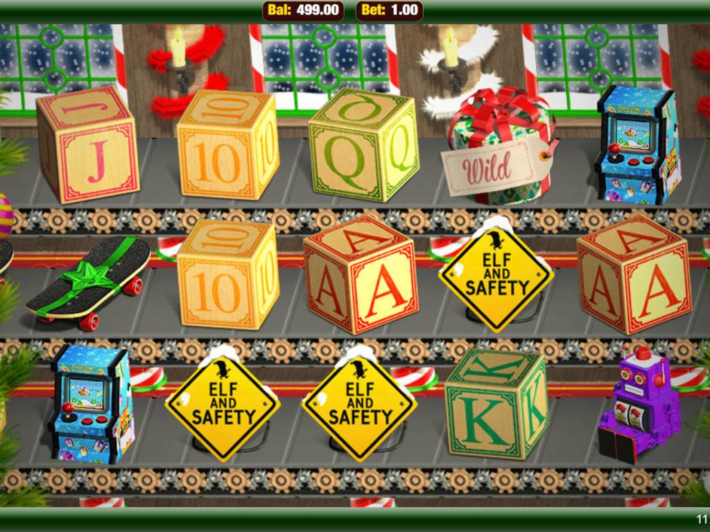 Online automatová casino hra Elf and Safety zdarma
