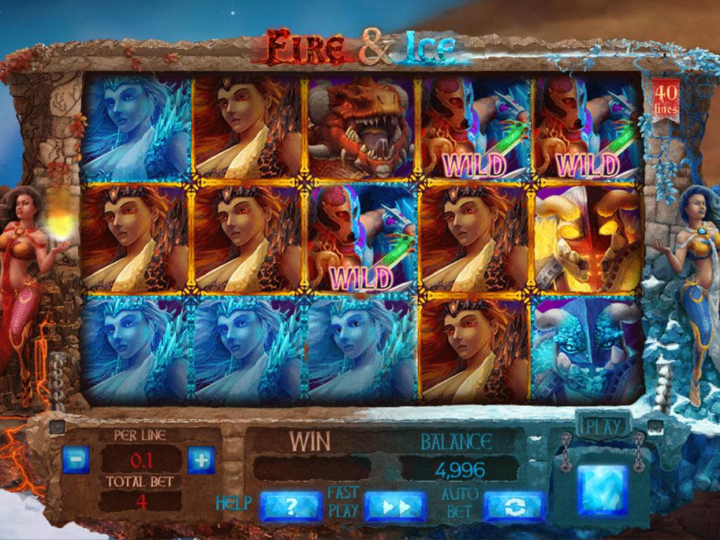 Casino automat Fire and Ice bez vkladu