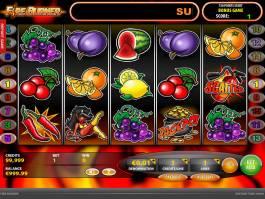 Online automat Fire Burner bez vkladu