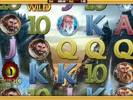 Online hrací automat Heroic bez stahování