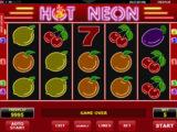 Roztočte online herní automat Hot Neon zdarma