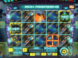 Casino automat Iron Assassins od společnosti Spinomenal