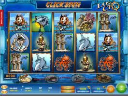 Zahrajte si casino automat Lost City zdarma