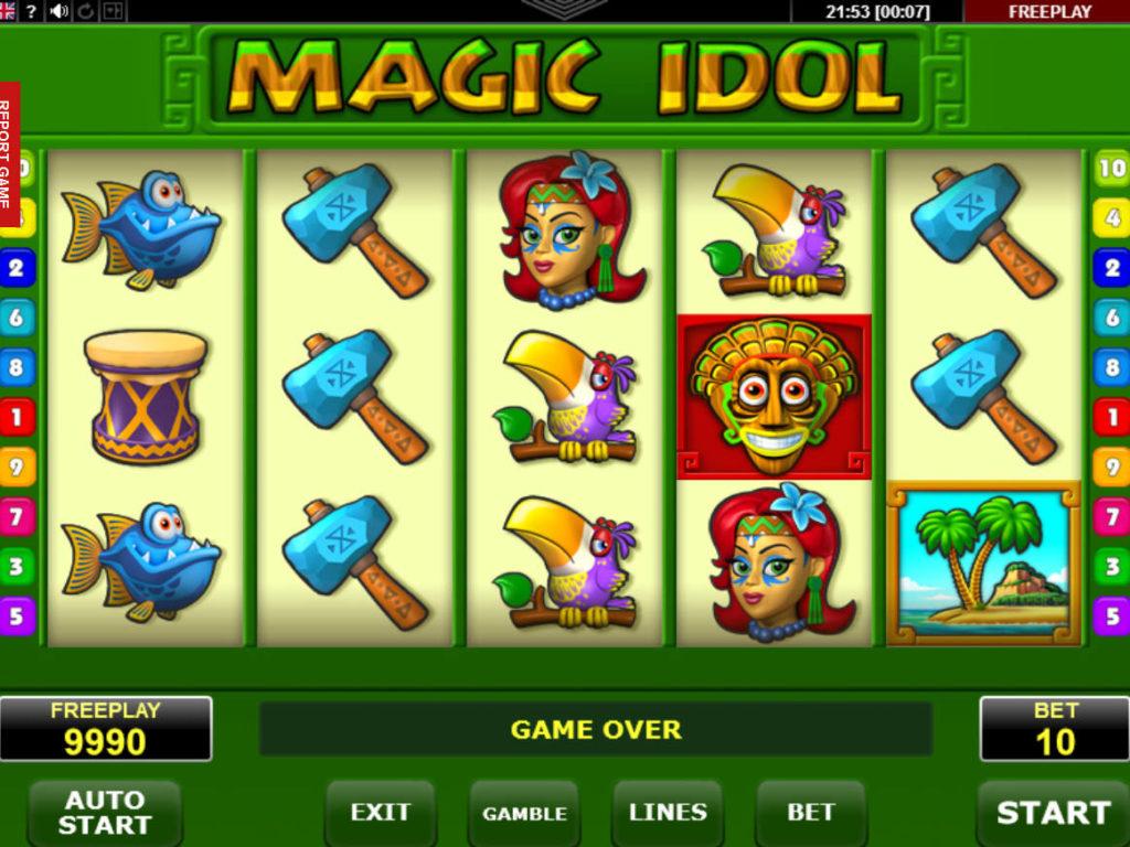 Online casino automatová hra Magic Idol
