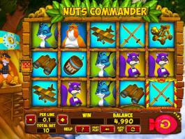 Online casino automat Nuts Commander