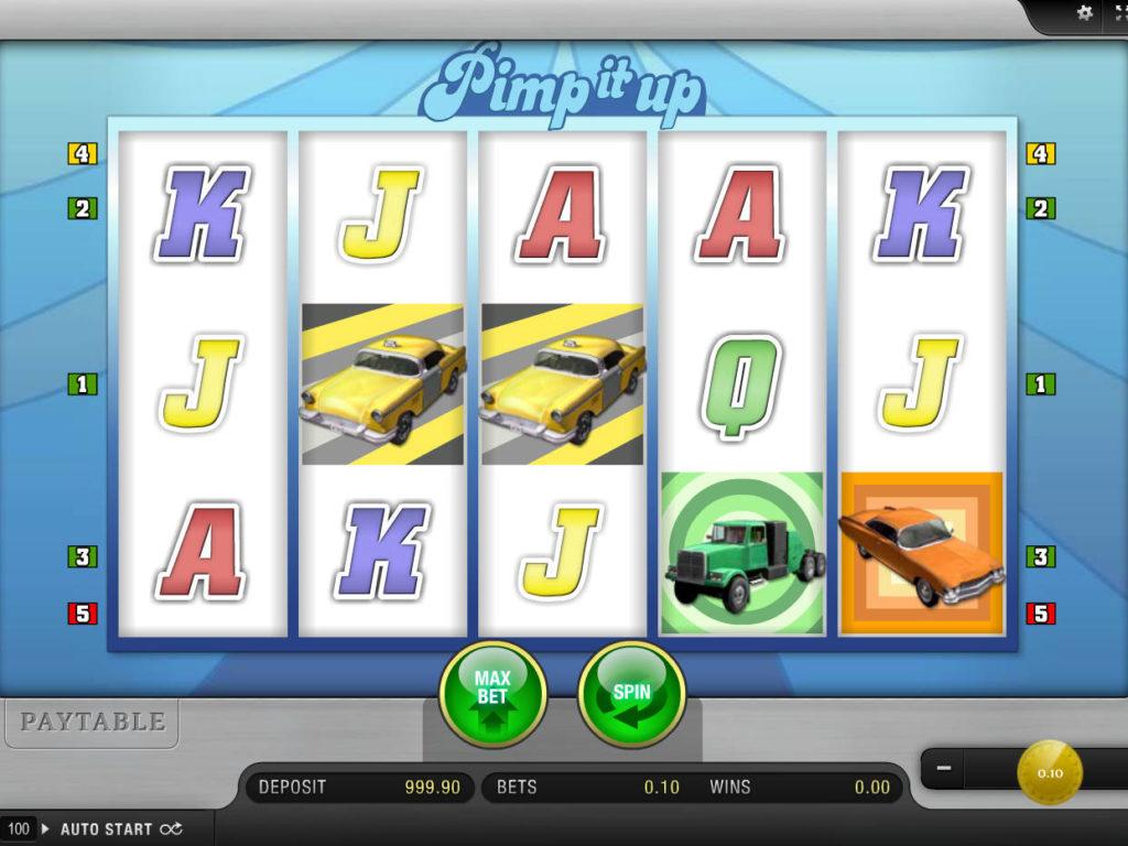 Online casino automat Pimp It Up