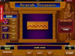 Online casino automat Scarab Treasure zdarma