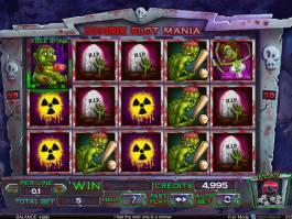 Zahrajte si Zombie Slot Mania online, zdarma