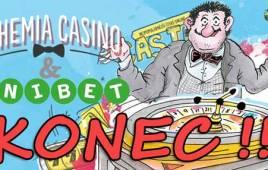 Šok: V Bohemia Casino a Unibet už si nezahrajeme!