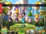 Obrázek z herního automatu Birds! bez vkladu