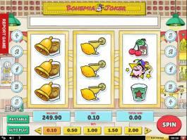 Zábavný online automat Bohemia Joker