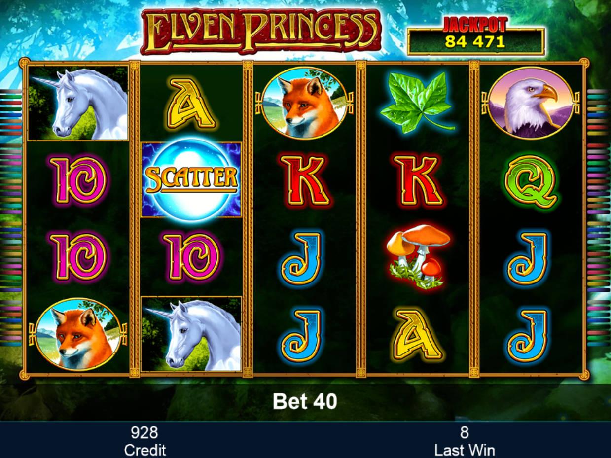 Zahrajte si casino automat Elven Princess
