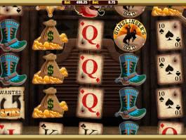 Online casino automat Gunslingers Gold zdarma