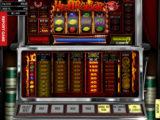 Obrázek z automatové casino hry Hell Raiser online