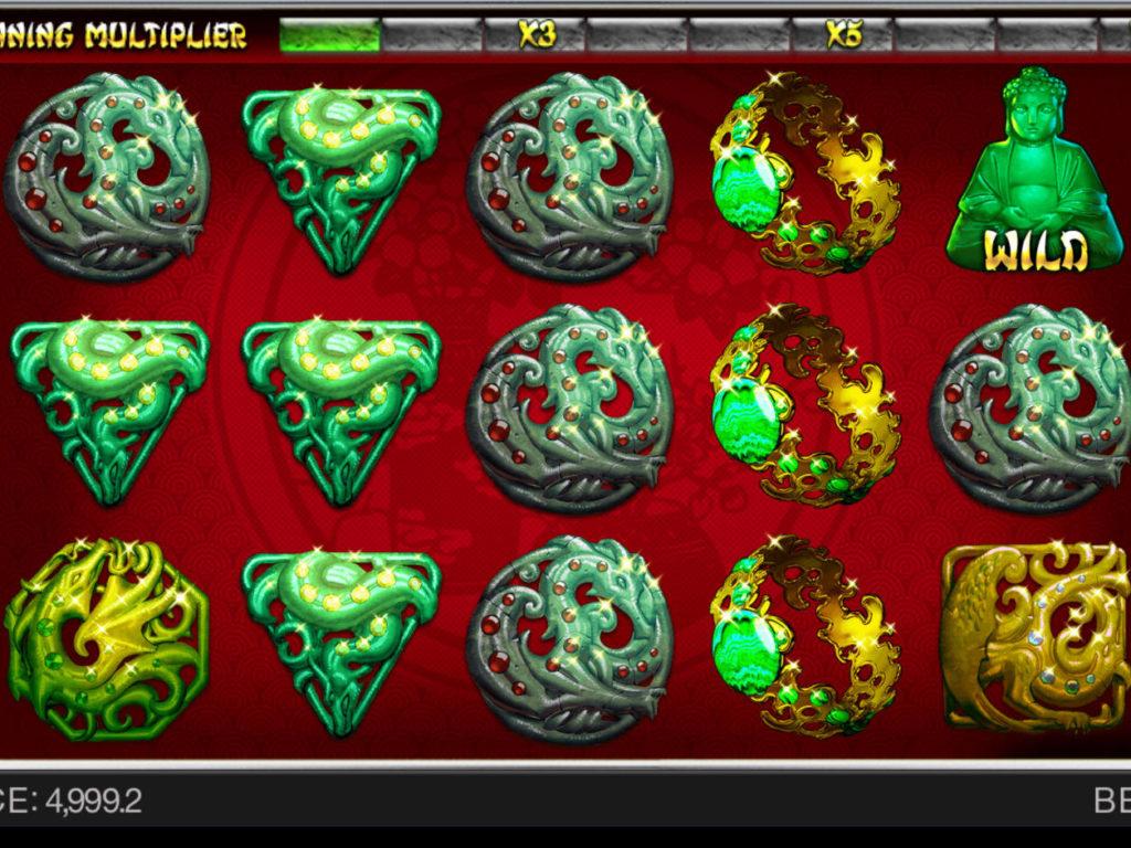 Roztočte herní automat Jade Connection bez vkladu