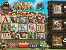 Zahrajte si casino automat Kingdom of Wealth zdarma