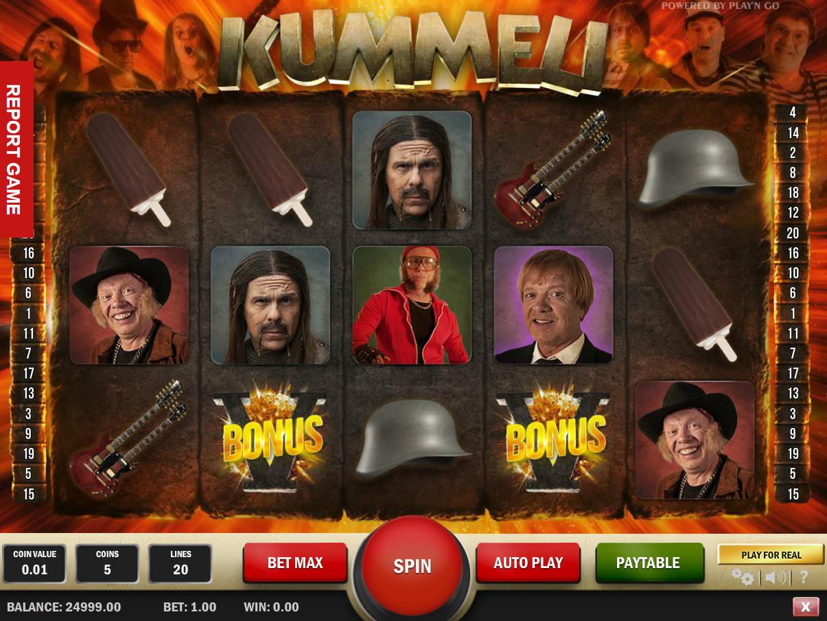 Zahrajte si online herní automat Kummeli zdarma