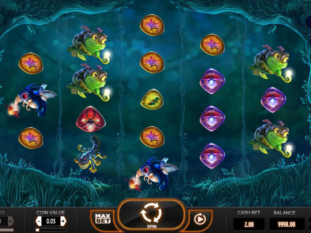 Zábavný online casino automat Magic Mushrooms zdarma