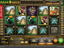 Roztočte herní automat Maya Gold
