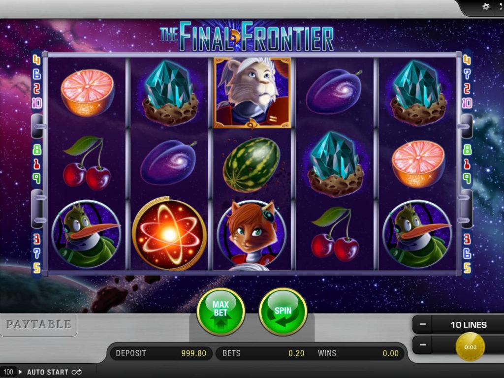 Zahrajte si online automatovou hru The Final Frontier
