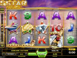 Online casino automat 5 Star Luxury zdarma