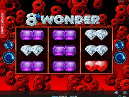 Online herní automat 8th Wonder bez vkladu