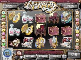 Online casino automat A Switch in Time bez stahování