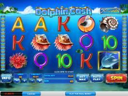 Herní automat Dolphin Cash bez vkladu