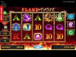 Online zábavný herní automat Flame of Fortune