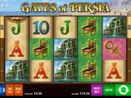 Obrázek z online herního automatu Gates of Persia