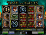 Casino atomat Haul of Hades pro zábavu