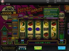 Herní automat bez stahování Haunted House