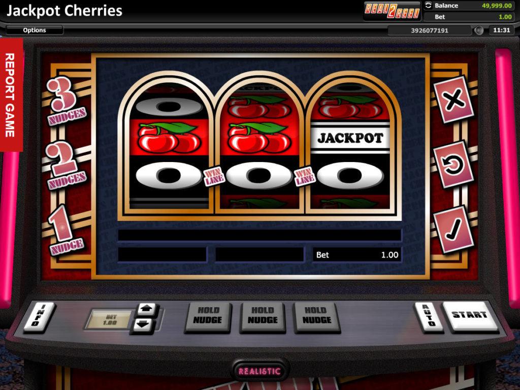 Online herní automat Jackpot Cherries zdarma