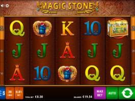 Online casino automat Magic Stone od vývojářské společnosti Bally Wulff