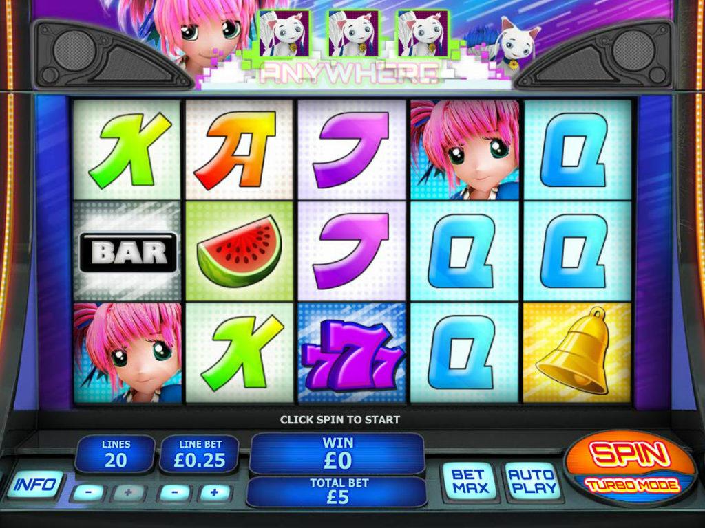 Obrázek z herního automatu Magical Stacks