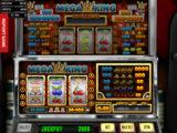 Zábavný casino automat Mega King zdarma