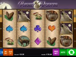 Herní automat Night Wolves online