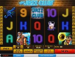 Online casino automat The Jazz Club zdarma