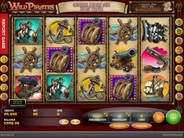 Roztočte casino automat Wild Pirates