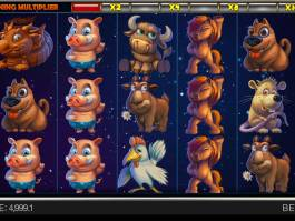 Obrázek ze hry automatu Year of Luck zdarma
