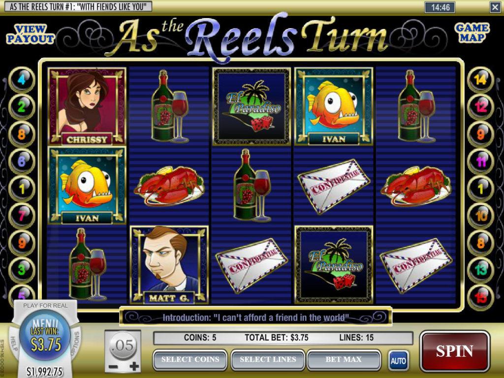Online herní automat As the Reels Turn zdarma