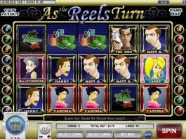 Herní automat As the Reels Turn 3 pro zábavu
