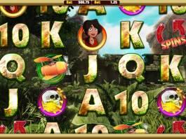 Online herní automat Cave Raiders zdarma