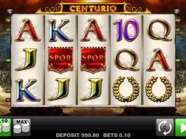 Online herní automat Centurio zdarma, bez vkladu