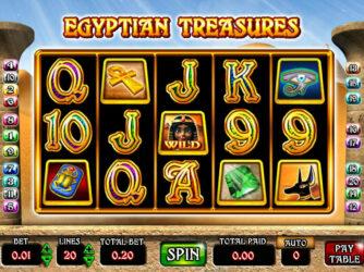 Automat Egyptian Treasures