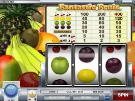 Zahrajte si casino automat Fantastic Fruit zdarma